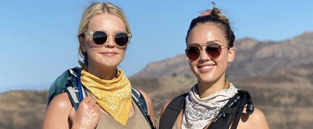 Jessica Alba Uses HikeGoo For Blisters