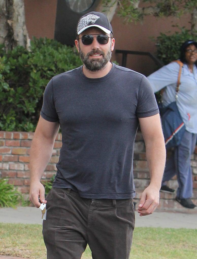 Ben Affleck Smiling in LA August 2015   Photos