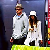 Justin Timberlake and Jessica Biel stepped out in Italy.