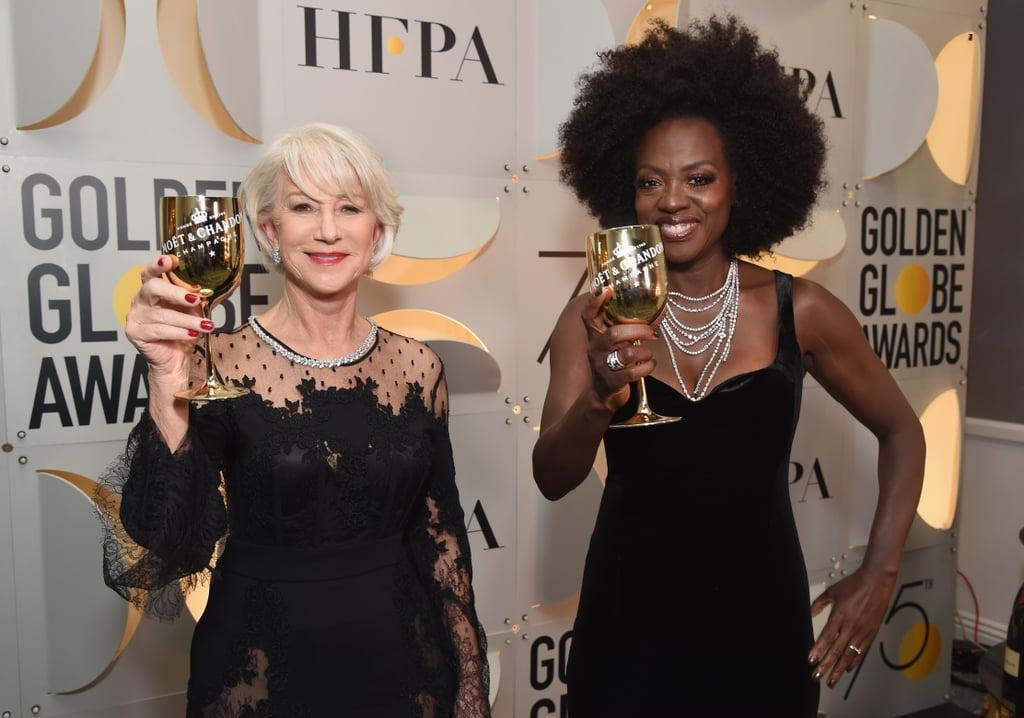 Pictured: Helen Mirren and Viola Davis