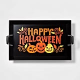 Happy Halloween Wood Serving Tray