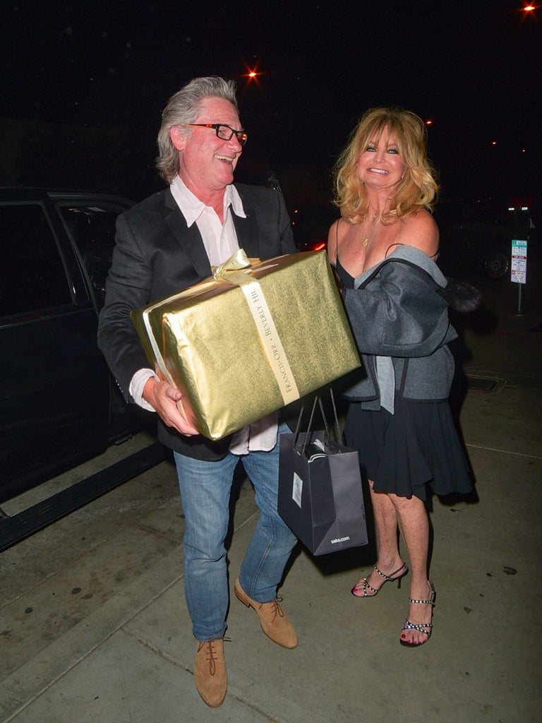 Goldie Hawn's 71st Birthday Party Pictures