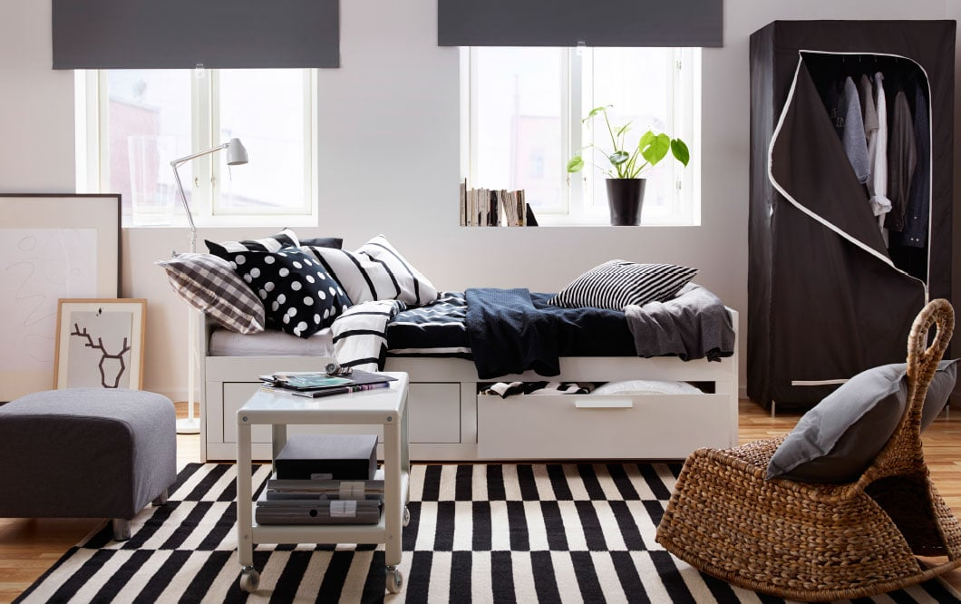 Brimnes Daybed With Drawers 280 Gorgeous Ikea Bedroom Ideas That Won T Break The Bank Popsugar Home Middle East Photo 16