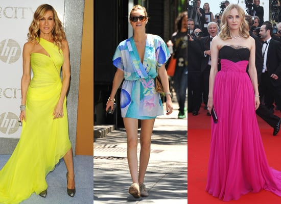 Celebrities Wearing Brights