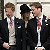 Prince Harry, Zara Tindall, and Prince William