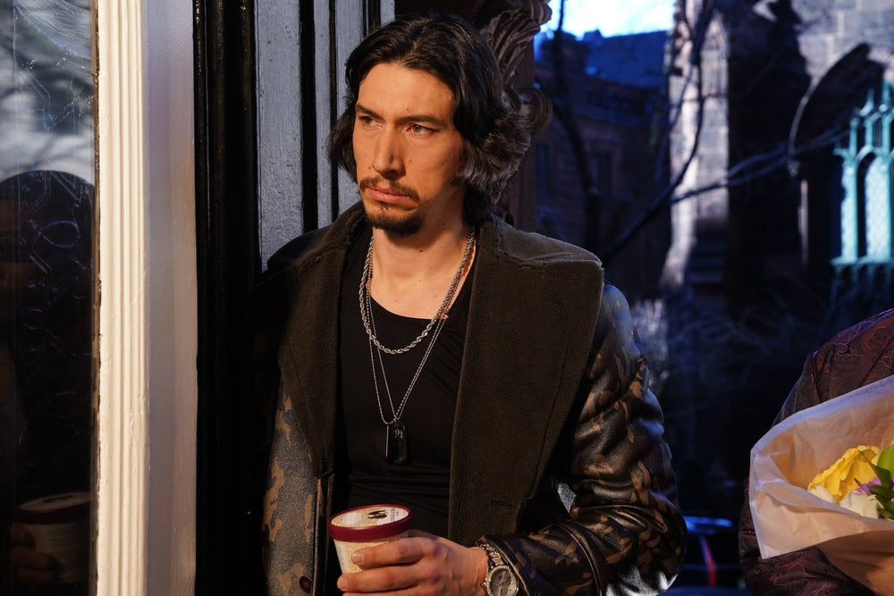 "If acting doesn't work out, Adam Driver might have a future in R&B. During his third stellar Saturday Night Live appearance, the actor surprised viewers with a soulful music video about taking things slow in the bedroom — like ""barely moving"" slow or ""in the 65 lane going two"" slow. Also starring the episode's musical guest, Halsey, every second of the video is practically begging to be turned into a GIF, and Driver's comically deep voice simply must be heard. Please enjoy it in all its glory ahead.      Related:                                                                                                           He's Back! Kylo Ren Is a Moody Intern in Adam Driver's 2nd Undercover Boss Spoof on SNL"
