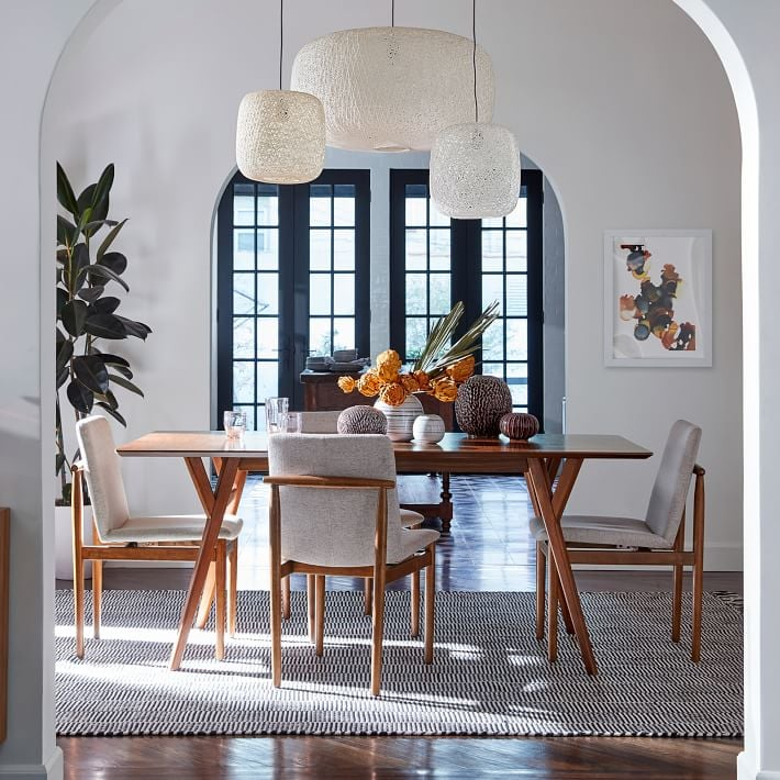 West Elm Mid Century Expandable Dining Table Best Deals From West Elm Friends And Family Sale Fall 2020 Popsugar Home Australia Photo 6