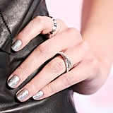 Hailee Steinfeld With Silver Nails