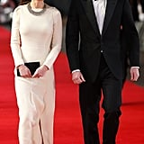 Kate and William were the picture of elegance as they arrived for the premiere of Mandela: Long Walk to Freedom in 2013.