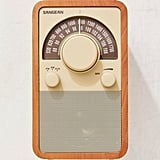 Sangean Retro Wooden Radio
