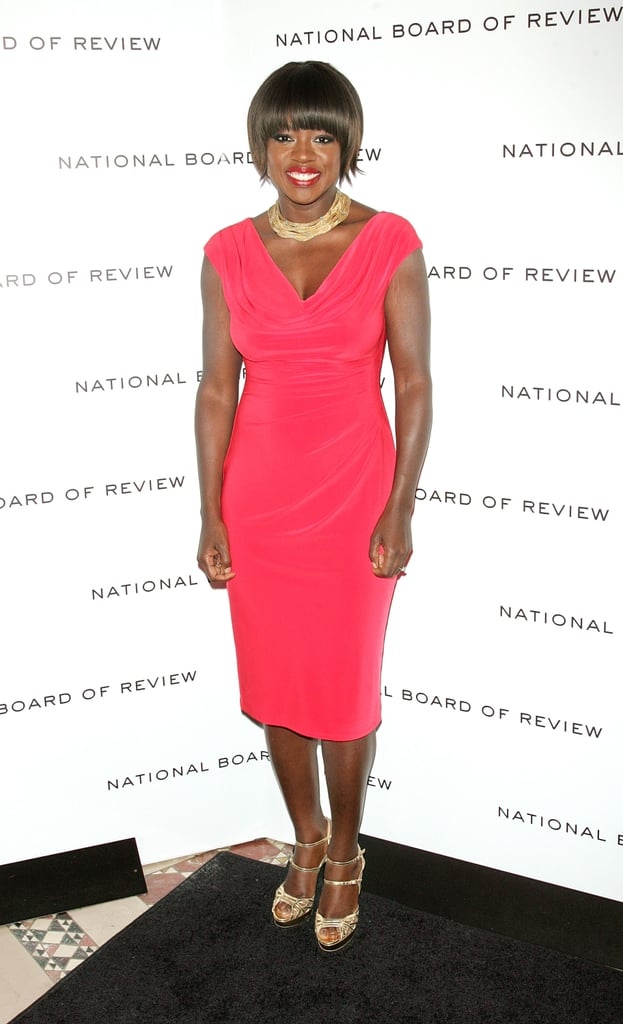 Viola Davis was in NYC for the 2011 National Board of Review Awards.