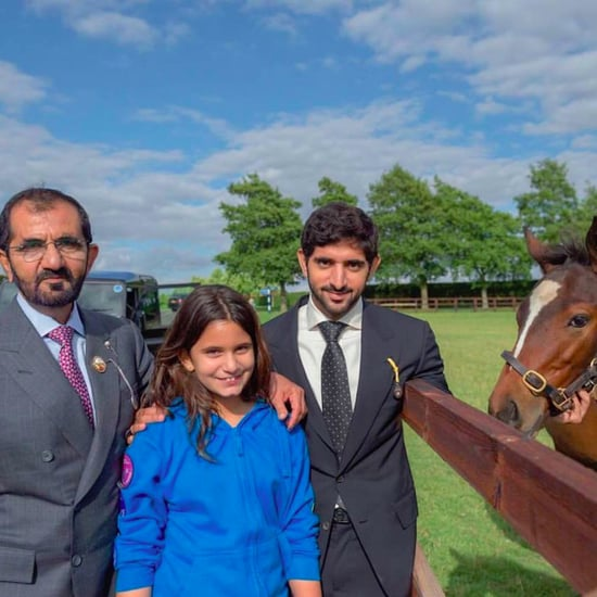 Sheikh Mo and Sheikh Hamdan in Italy