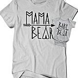 Mama Bear and Baby Bear Shirts