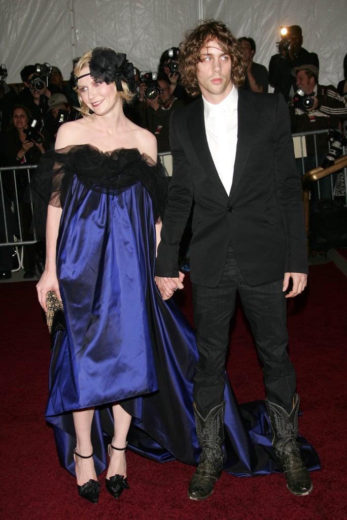 Kirsten Dunst and Johnny Borrell