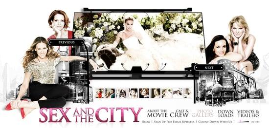 Fab Site: SexAndTheCityMovie.com