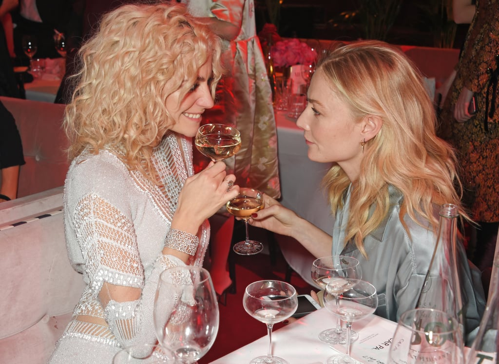 Pixie Lott and Clara Paget