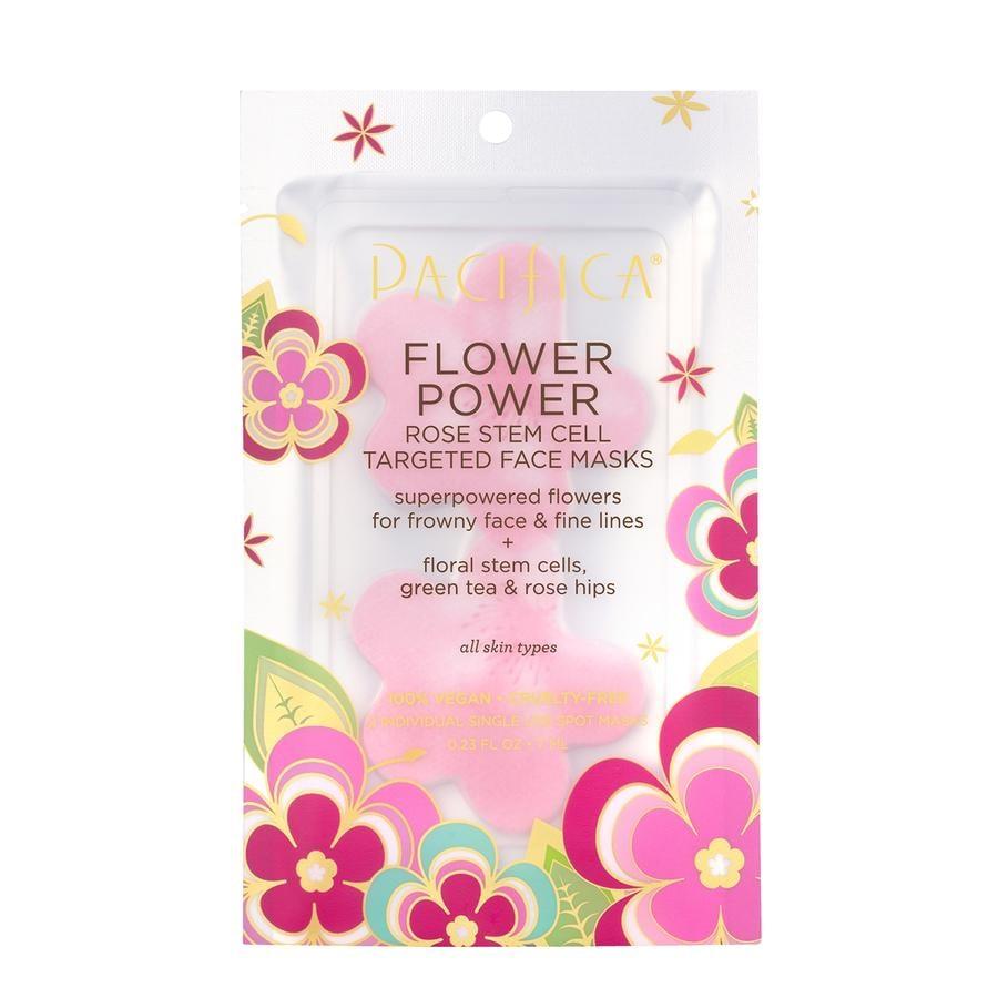 Flower Power Rose Targeted Face Masks