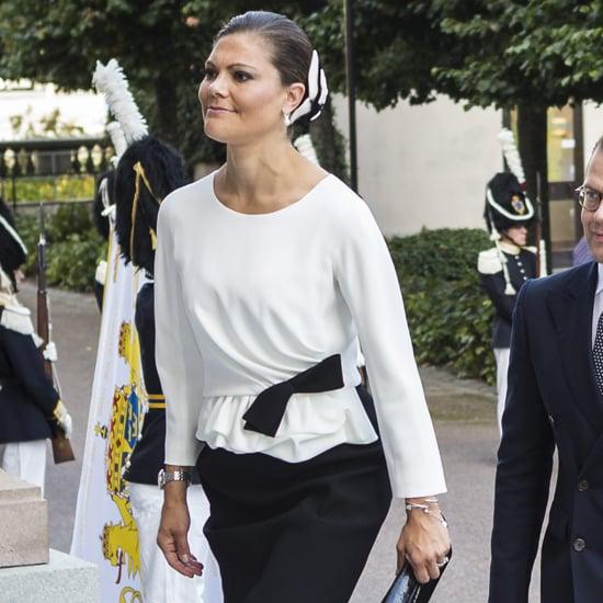 Princess Victoria Paule Ka Dress September 2016