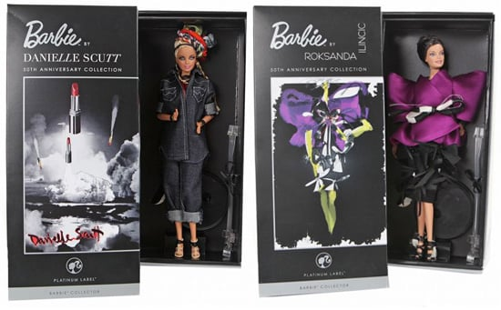 Simply Fab: Designer Barbie Dolls