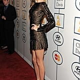 Taylor Swift revealed her long stems.