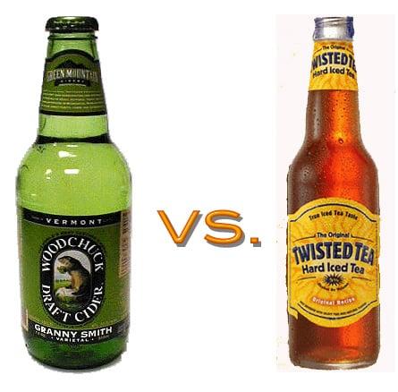 Hard Cider vs. Hard Iced Tea