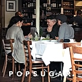 Demi Lovato and Charlie Hunnam Having Lunch in LA Dec. 2017