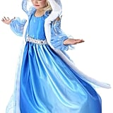Snow Queen Gown and Cape Costume