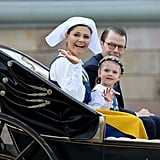 Swedish Royals at National Day Celebration
