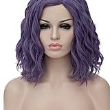 Topwigy Women Cosplay Wig in Purple Gray