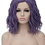Topwigy Women Cosplay Wig in Purple Gray