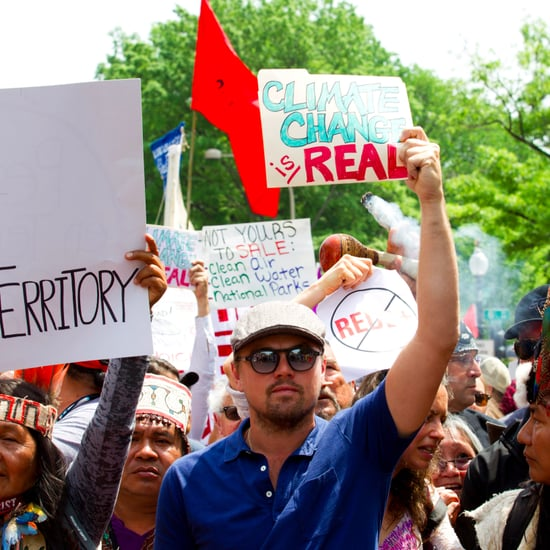 Leonardo DiCaprio at People's Climate March
