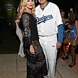 Molly Simms and Scott Stuber as a Dodgers Player