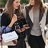 Givenchy, Balenciaga, and smart layering took the spotlight in this street-style duo.