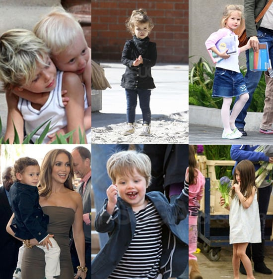 Who were the most stylish tots of 2010?
