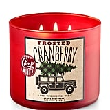Frosted Cranberry Candle ($25)