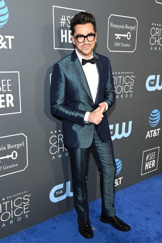 Daniel Levy at the 2019 Critics' Choice Awards | Schitt's Creek Cast