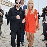 Nicole Richie and Joel Madden were arm in arm after attending the Louis Vuitton show in October 2011.