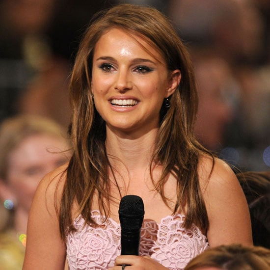 Natalie Portman spoke at the 2010 AFI Awards in LA.