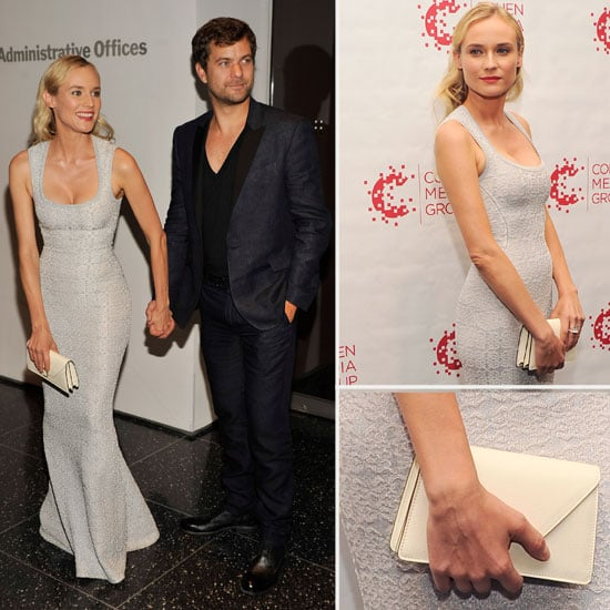 Pictures of Diane Kruger's Azzedine Alaia Gown From All Angles at Farewell My Queen Screening in New York