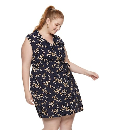 POPSUGAR Plus Size Mini Shirt Dress | Flattering Plus Size ...