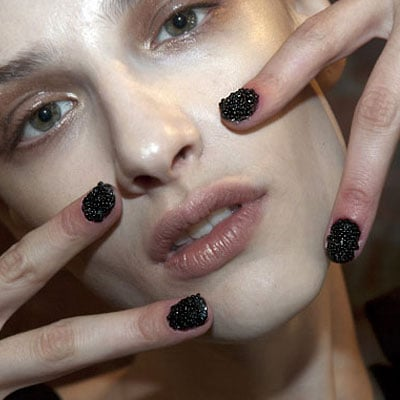 How to Make an Easy Caviar or Seed Bead Manicure