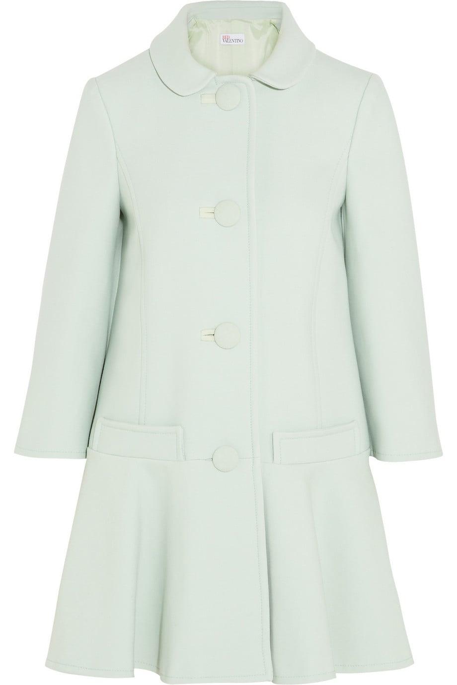 Red Valentino mint-green coat ($995)