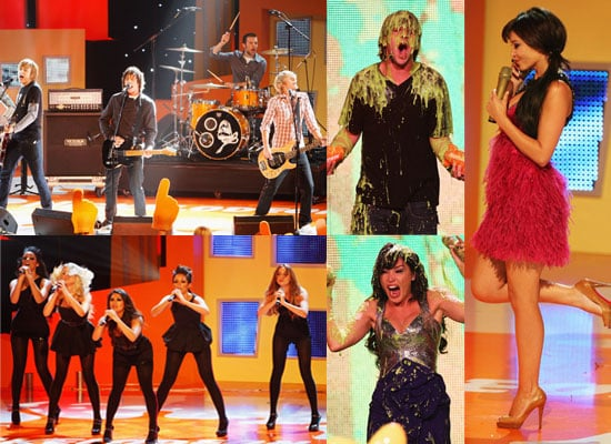 Winners And Photos From Inside The 2008 Nickelodeon UK Kids' Choice Awards, Feat Evanna Lynch, Bonnie Wright, Josh Peck, McFly