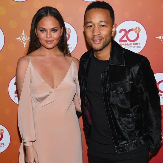 Chrissy Teigen and John Legend at Mohegan Sun's After-Party