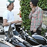 Harry Styles Learns the Hard Way That Motorcycles Don't Run on Cuteness Alone