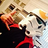 In 2014, Freddie Prinze Jr. shared a snap of him as stormtrooper on Twitter.