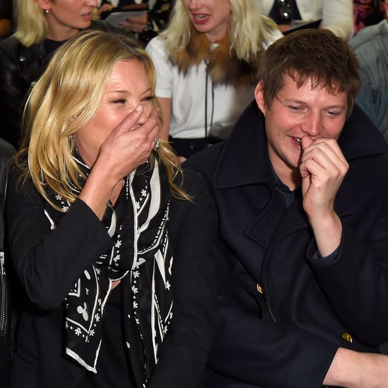 Kate Moss and Boyfriend at Coach Show During LC:M