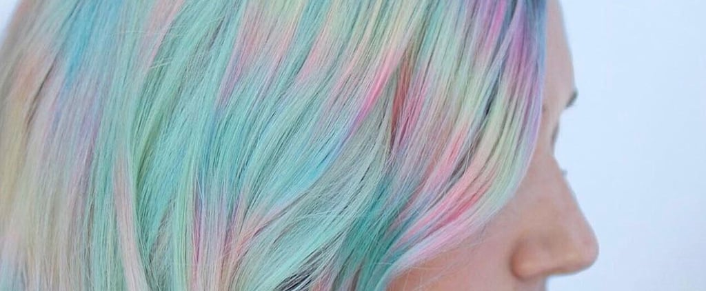 "This New ""Colour Misting"" Technique Is Like Tie-Dye For Your Hair"