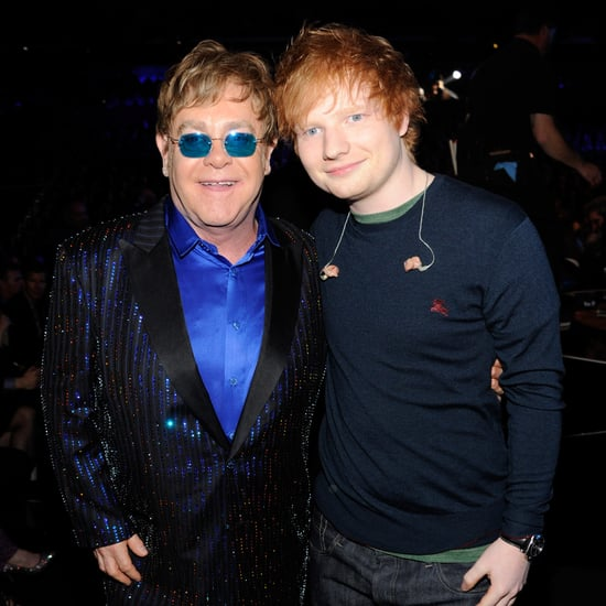 Elton John Pronouncing Ed Sheeran's Name at the Brit Awards