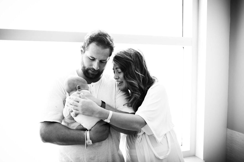 Jillian Harris's Birth Story and Pictures